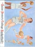 1973 St. Peter's College Basketball Media Guide bkbx6.1560