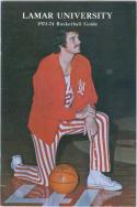 1973 Lamar Basketball Media Guide bkbx6.1497