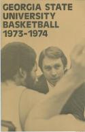 1973 Georgia State Basketball Media Guide bkbx6.1478