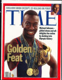 1996 8/12 Time No Label newsstand Michael Johnson Track