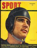 1948 December Sport Magazine Johny Lujack chicago Bears