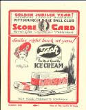 1925 World Series Program Pittsburgh Pirates vs Washington Senators  NM reprint