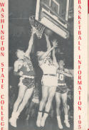 Washington State College  1955 - 1956 Basketball press Media guide bxpac10
