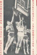 Washington State College  1955 - 1956 Basketball press Media guide bxpac10