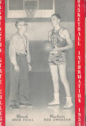 Washington State  1953 - 1954 College Basketball press Media guide bxpac10