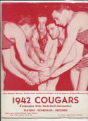Washington State 1942 Basketball press Media guide Rare  bxpac10