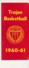 USC 1960 - 1961 Basketball press Media guide  bxpac10