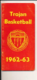 USC 1962-1963 Basketball press Media guide  bxpac10
