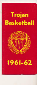 USC 1961-1962 Basketball press Media guide  bxpac10