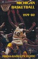 1979 Michigan College Basketball Media Guide bkbx3.613