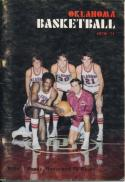 1970 Oklahoma College Basketball Media Guide bkbx3.620