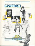 1983 West Virginia College Basketball Media Guide bkbx3.665