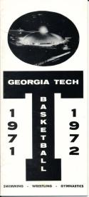 1971 Georgia Tech Swimming Wrestling Basketball College Media Guide bkbx3.609