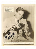 1950 Bennetts Prune Juice Walter Budko Baltimore Bullets Basketball Card signed