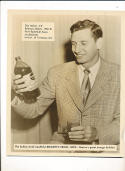 1950 Bennetts Prune Juice Dick Mehen Baltimore Bullets Basketball Card