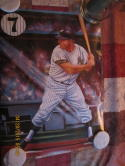 1986 Mickey Mantle New York Yankees art print