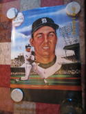 1986 Al Kaline Detroit Tigers art print