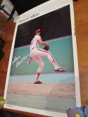 Steve Carlton Philadlephia Phillies 1978 sports illustrated  poster b1