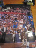 Eddie Johnson Phoenix Suns Signed Mobil Poster bk2