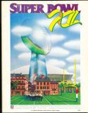 1978 Superbowl 12 XII  Raiders vs Vikings em (corner crease)