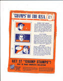 1940 Wheaties baseball set 1 - 13 Joe Dimaggio