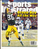 1/20 1997 signed Antonio Freeman Green Bay Packers sports Illustrated newsstand