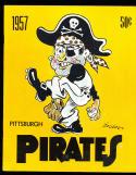 1957 Pittsburgh Pirates Baseball Yearbook nm