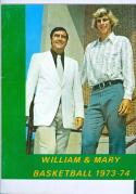 1973 William & Mary Basketball Media Guide bkbx6.1640