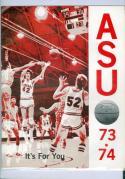 1973 Alabama Basketball Media Guide bkbx6.1431
