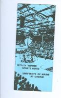 1973 Maine at Orono Basketball Media Guide bkbx6.1505