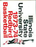 1973 Illinois State Basketball Media Guide bkbx6.1616
