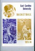 1973 East Carolina Basketball Media Guide bkbx6.1606
