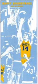 1973 Navy Basketball Media Guide bkbx6.1519