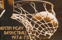 1974- 1975 Austin Peavy university Basketball Media Press Guide bx74
