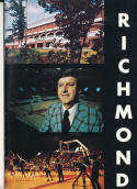 1974 - 1975 Richmond university Basketball press Media guide bx74