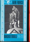1974 - 1975 Air Force  university Basketball press Media guide bx74