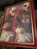 1966 St. Louis Cardinals Football NFl Cover original art David Boss
