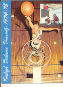 1974 - 1975 Fairleigh Dickinson university Basketball press Media guide bx74