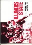 1974 - 1975 Illinois State university Basketball press Media guide bx74
