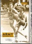 1974 - 1975 Army university Basketball press Media guide bx74