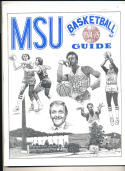 1974 - 1975 Morehead State university Basketball press Media guide bx74