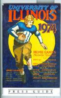Football Media Guide 1974 University of Illinois em -Box17