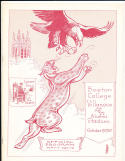 1957 10/19 Boston College vs Villanova football program