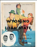 1961 10/7 Wyoming vs Utah State football program