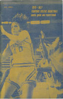 1976 Canisius College Basketball Media Guide bkbx5.1201