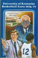 1976 Kentucky Basketball Media Guide bkbx5.1244