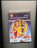 1985 NCAA Basketball Guide Patrick Ewing & Cheryl Miller