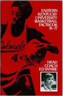 1976 Eastern Kentucky Basketball Media Guide bkbx5.1223