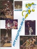 1976 Pittsburgh Basketball Media Guide bkbx5.1406