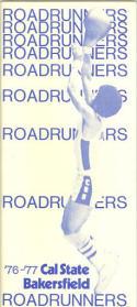 1976 Cal State Bakersfield Basketball Media Guide bkbx5.1198